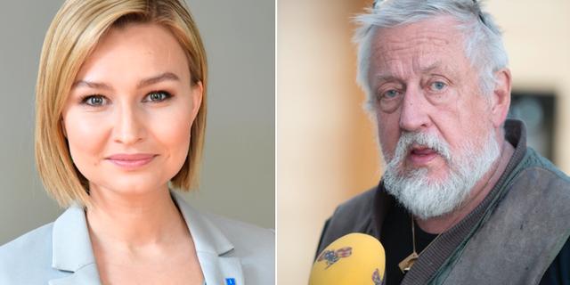 Ebba Busch Thor och Leif GW Persson.  TT