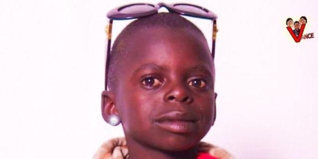 Barnstjärnan Darcy Irakoze, känd som Kacaman. Kacaman/Facebook