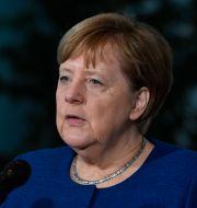 Angela Merkel.  JOHN MACDOUGALL / TT NYHETSBYRÅN