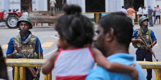 Efter bombdåden i Sri Lanka. Manish Swarup / TT NYHETSBYRÅN/ NTB Scanpix