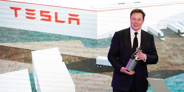 Elon Musk. Aly Song / TT NYHETSBYRÅN
