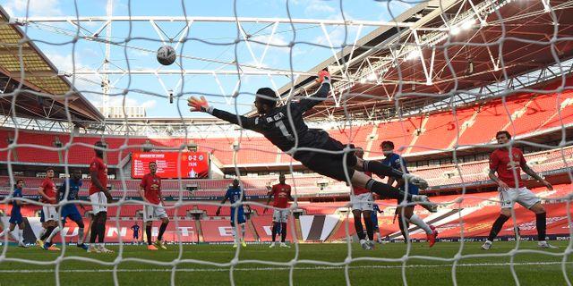 Uniteds målvakt David De Gea Andy Rain / TT NYHETSBYRÅN