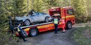Bild från olyckan. Mats Andersson / TT / TT NYHETSBYRÅN