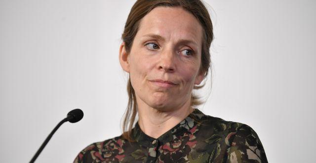 Sara Byfors. Henrik Montgomery/TT / TT NYHETSBYRÅN