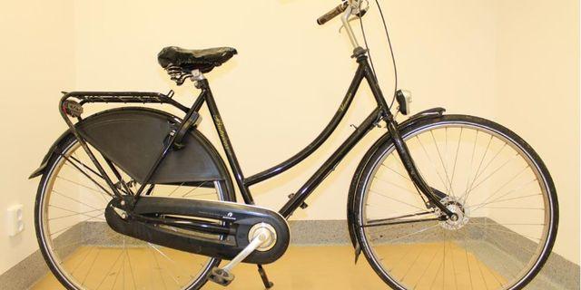 Cykeln som tros ha använts vid mordet Polisen