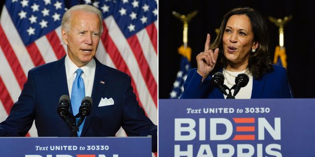 Joe Biden/Kamala Harris. TT
