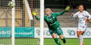 Emma Holmgren i Linköpingströjan i fjol. PETTER ARVIDSON / BILDBYRÅN