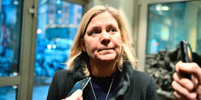 Magdalena Andersson. Karin Wesslen/TT / TT NYHETSBYRÅN
