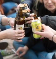 Arkivbild från 2014. Ungdomar firar valborg i Uppsala.  FREDRIK SANDBERG / TT / TT NYHETSBYRÅN