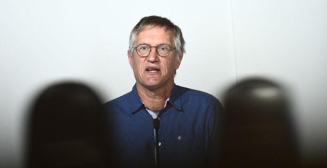 Statsepidemiolog Anders Tegnell. Claudio Brescian /TT / TT NYHETSBYRÅN