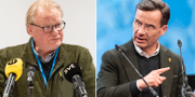 Peter Hultqvist (S)/Ulf Kristersson (M). TT