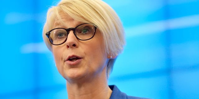 Elisabeth Svantesson.  Vilhelm Stokstad / TT / TT NYHETSBYRÅN