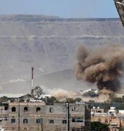 Sanaa, Jemen. Hani Mohammed / TT NYHETSBYRÅN