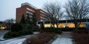 Hallands sjukhus i Varberg där den smittade personen upptäcktes. Anders Andersson / TT / / TT NYHETSBYRÅN