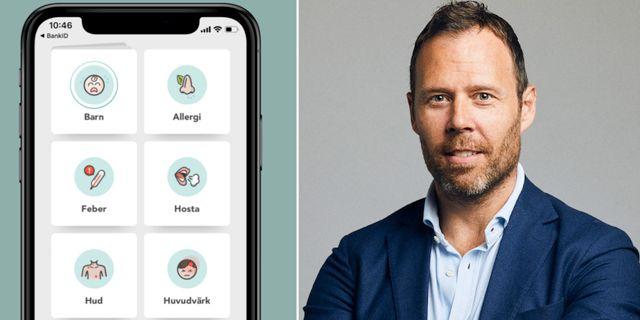 Martin Lindman, vd och grundare för Doktor.se Pressbilder