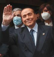 Silvio Berlusconi/Arkivbild Alessandra Tarantino / TT NYHETSBYRÅN