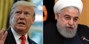 Donald Trump/Hassan Rouhani. TT
