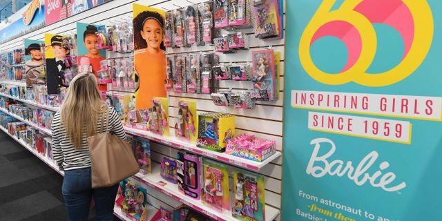 Barbiedockor till salu i El Segundo, Kalifornien. MARK RALSTON / AFP