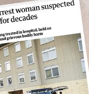 Bild på lägenheten/Bilder från medier som skrivit om fallet.  TT/The Guardian/Daily Mail, DW.