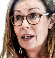 Swedbanks vd Birgitte Bonnesen.  Lars Pehrson/SvD/TT / TT NYHETSBYRÅN
