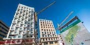 Nya bostäder byggs vid Torsplan, Hagastaden binder samman Stockholm och Solna. Arkivbild. Claudio Bresciani/TT / TT NYHETSBYRÅN