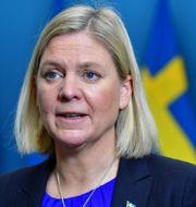 Finansminister Magdalena Andersson (S).  Jonas Ekstromer / TT NYHETSBYRÅN