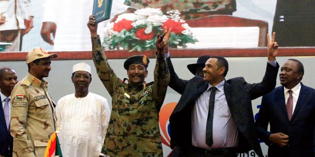 Abdel Fattah al-Burhan. MOHAMED NURELDIN ABDALLAH / TT NYHETSBYRÅN