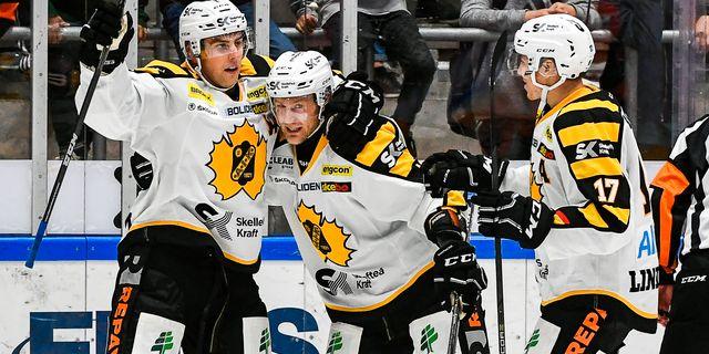 Joakim Lindström, Oscar Möller och Pär Lindholm. Arkivbild. SUVAD MRKONJIC / TT NYHETSBYRÅN