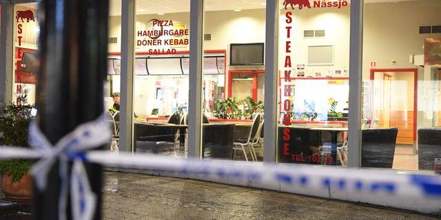 Man död efter knivattack på restaurang. Mikael Fritzon/TT / TT NYHETSBYRÅN