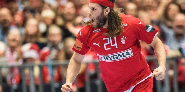 Mikkel Hansen.  Claus Fisker / TT NYHETSBYRÅN/ NTB Scanpix