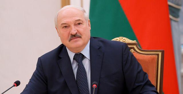 Aleksandr Lukasjenko, Belarus president. Sergei Sheleg / TT NYHETSBYRÅN