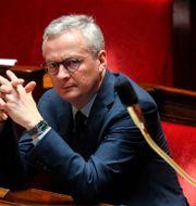 Arkivbild: Frankrikes finansminister Bruno Le Maire.  LUDOVIC MARIN / TT NYHETSBYRÅN