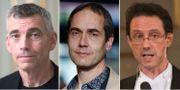 Eric M Runesson, Mats Malm och Tomas Riad.  TT