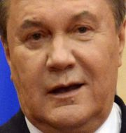 Viktor Janukovytj ALEXANDER NEMENOV / AFP