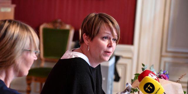 Kommunalrådet Katrin Stjernfeldt Jammeh (S). Arkivbild. Johan Nilsson/TT / TT NYHETSBYRÅN