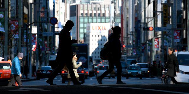 Tokyo. TOSHIFUMI KITAMURA / AFP