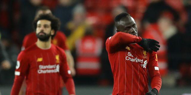Liverpools Mohamed Salah och Sadio Mané. DAVID KLEIN / BILDBYRÅN