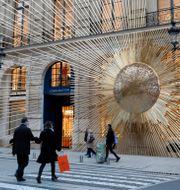 Louis Vuitton i Paris. Arkivbild. Charles Platiau / TT NYHETSBYRÅN