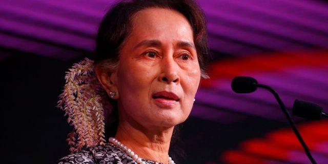 Suu Kyi. Arkivbild. Bullit Marquez / TT NYHETSBYRÅN/ NTB Scanpix