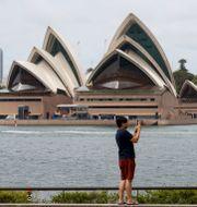Operahuset i Sydney, Australien. Mark Baker / TT NYHETSBYRÅN