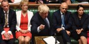 Boris Johnson i parlamentet. JESSICA TAYLOR / UK PARLIAMENT