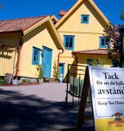 Temapark i barnboksförfattaren Astrid Lindgrens födelsekommun Vimmerby. Janerik Henriksson/TT / TT NYHETSBYRÅN