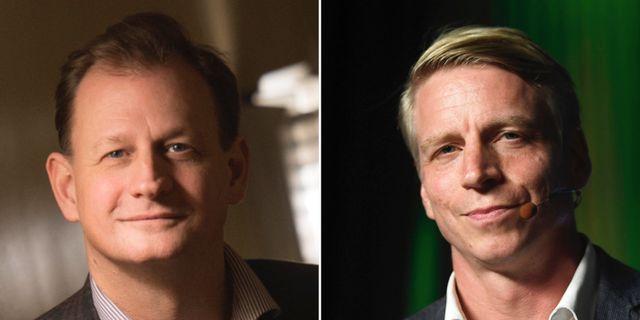 Carl Schlyter och Per Bolund.  TT