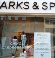 Illustrationsbild: En Marks & Spencer-butik i brittiska Shrewsbury.  Nick Potts / TT NYHETSBYRÅN