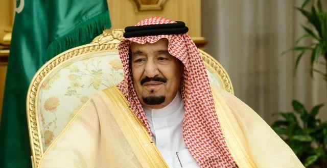 Saudiarabiens kung Salman bin Abdul Aziz. Henrik Montgomery/TT / TT NYHETSBYRÅN