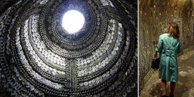 Maragte Shell Grotto att besöka i badorten Margate på Storbritanniens sydostkust. Wikicommons