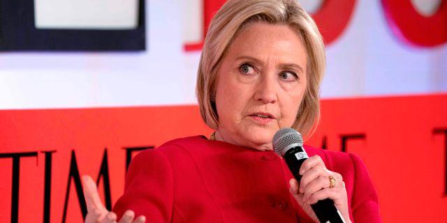 Hillary Clinton. DON EMMERT / AFP