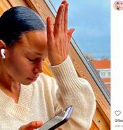 Bah Kuhnke på Instagram, arkivbild. Skärmdump från Bah Kuhnkes Instagram, TT