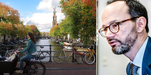 Arkivbild från Amsterdam/Tomas Eneroth (S). TT