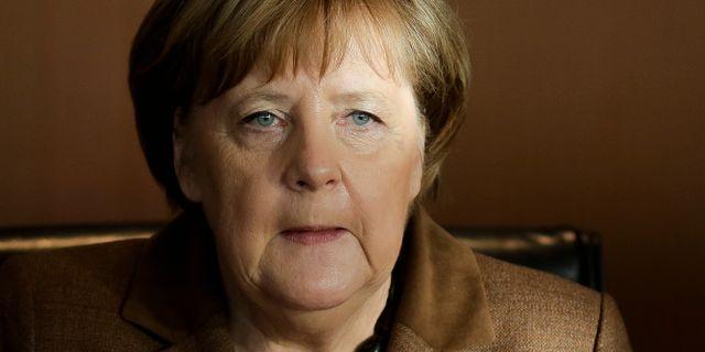 Angela Merkel  Markus Schreiber / TT NYHETSBYRÅN